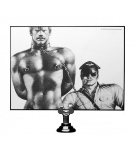 TOM OF FINLAND COLLAR DE NEOPRENO CON CANDADO