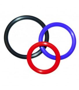 SET 3 COCKRINGS MULTICOLOR