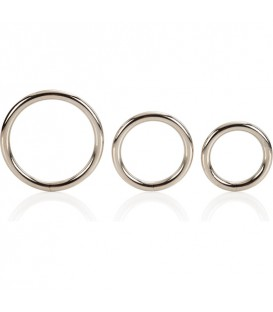 SET 3 COCKRINGS METAL