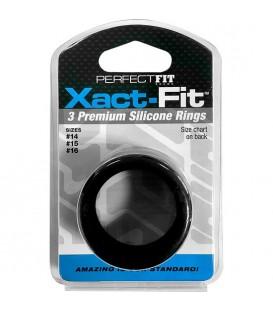 XACT FIT KIT 3 ANILLOS DE SILICONA - 3.5 CM, 3.8 CM Y 4 CM