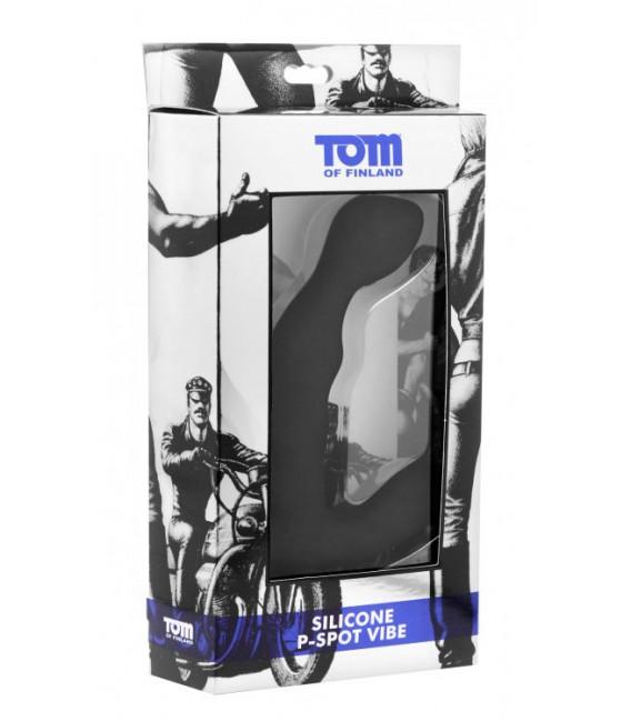 Tom Of Finland P-SPOT VIBE Vibrador anal de próstata de silicona