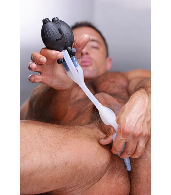 CleanStream Doble enema para limpieza anal Mastersex