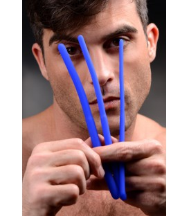 Invasion Kit Set de Entrenamiento Uretral de silicona flexible Master Series