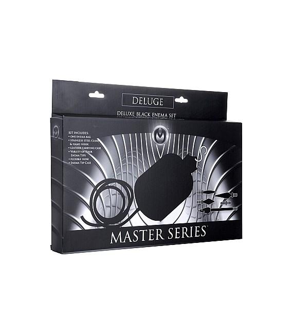 Deluge Kit bolsa y accesorios para lavativas de Master Series Mastersex
