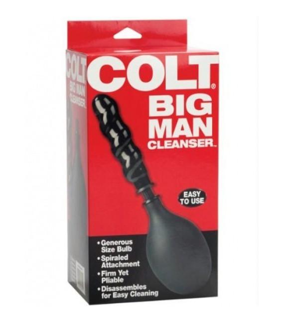 Big Man Ducha Anal con Dildo de Colt
