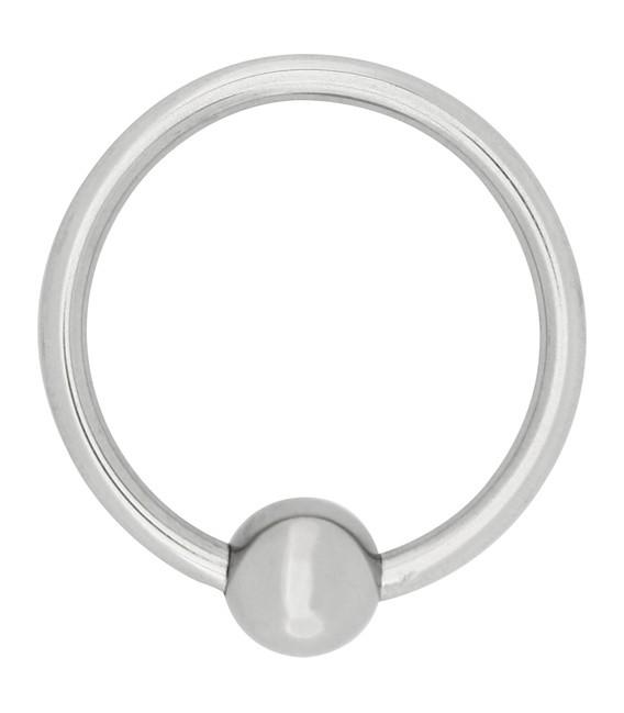 Piercing Anillo para el Glande Steel Power Tool
