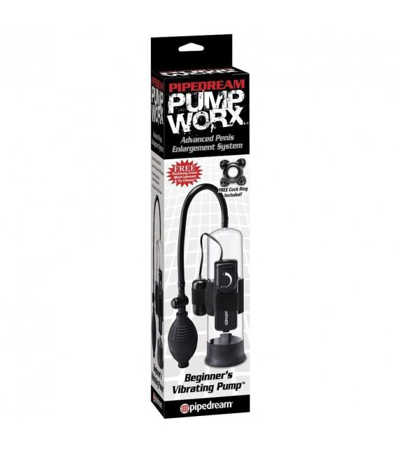Pump Worx Bomba de Succión Vibradora para Principiantes