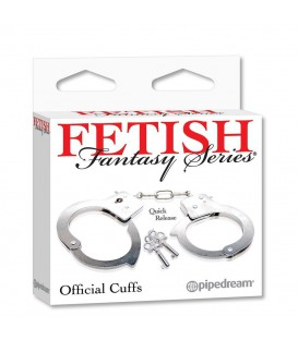 Fetish Fantasy Esposas Bondage de Metal Pipedream