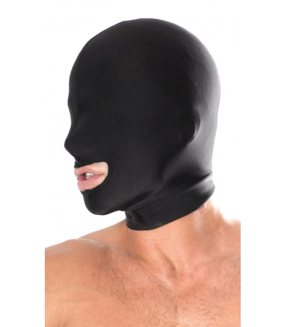 Máscara BDSM para Sumisos con Abertura en la Boca Pipedream