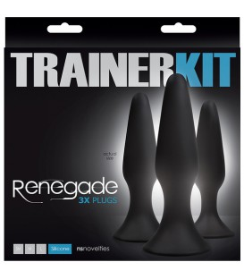RENEGADE KIT PLUG 3PC NEGRO