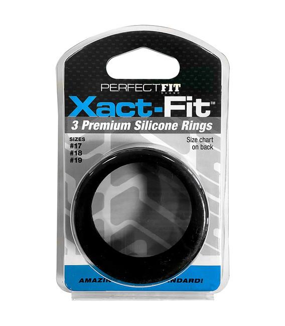 XACT FIT KIT 3 ANILLOS DE SILICONA - 4 CM, 4.5 CM Y 5 CM