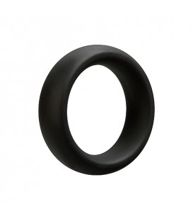 Optimale Cockring anillo para el pene y testículos de Silicona 45 mm negro gris