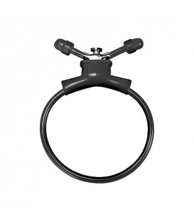 Anillo Ajustable Pene negro Erection Booster Shots Toys