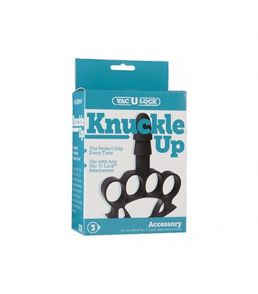 Knuckle up puño americano para plugs y dildos Vac-U-Lock