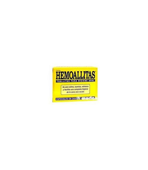 Hemoallitas toallitas para la higiene anal 15 unidades