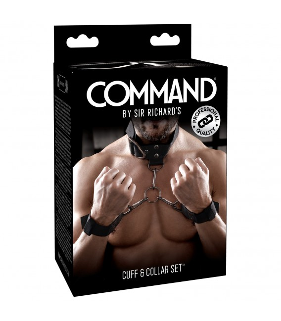 Command Sir Richard's Bondage Ataduras cuello y muñecas Mastersex