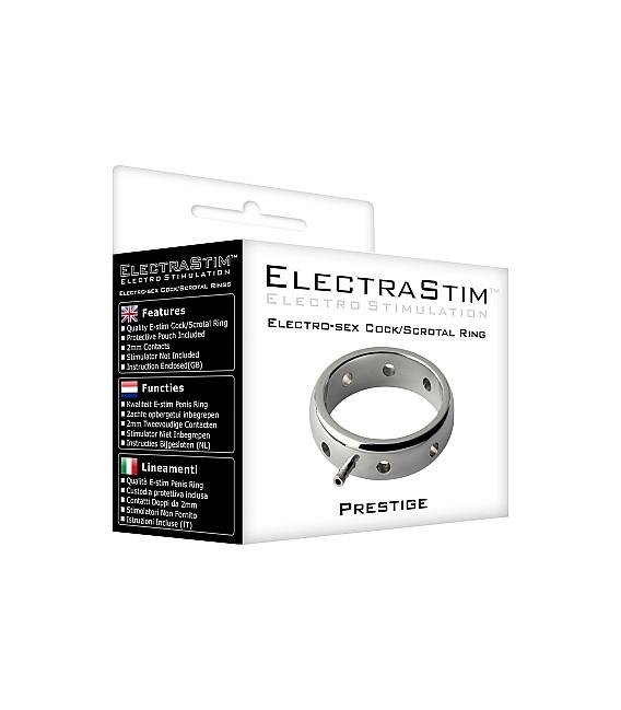 ELECTRASTIM PRESTIGE METAL ELECTRO COCK RING