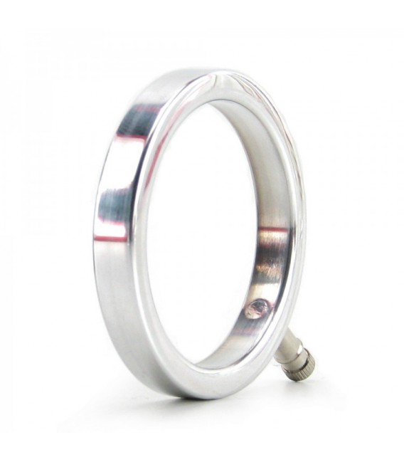 ELECTRASTIM SOLID METAL COCK RING 48 mm