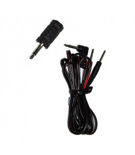 ELECTRASTIM KIT CABLE ADAPTADOR JACK 3.5MM/2.5MM