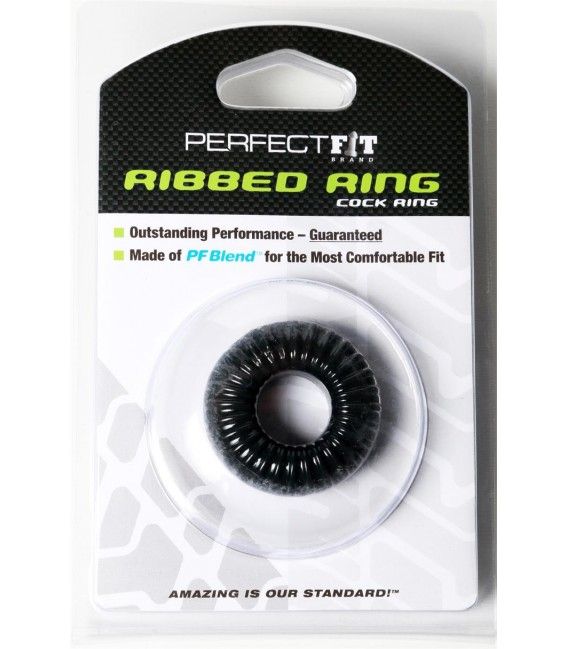 Ribbed Ring Anillo para el Pene Perfect Fit
