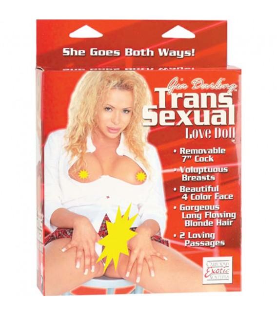 Gia Darling Muñeca Hinchable Transexual con pene Mastersex