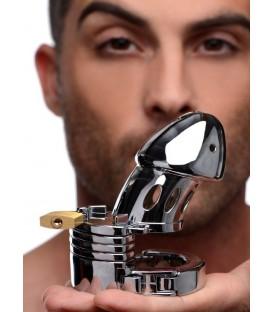 Incarcerator Cinturón de Castidad para sumisos de acero Master Series