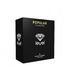 Preservativos LEVEL Popular con ajuste anatómico Mastersex