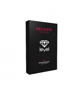 Preservativos Level Delicate ultrafinos y lubricados