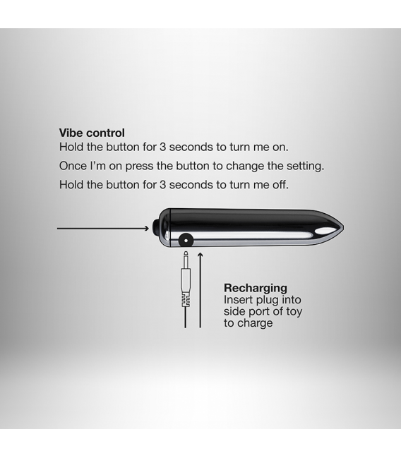 Ro-Zen Pro Vibrador Estimulador Punto P Rocks Off