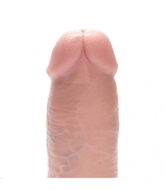 """King Cock 11"""" Pene Realístico con Testículos 28 cm"""