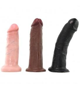 King Cock Hot Seat Sillón hinchable con dildos vibradores Mastersex