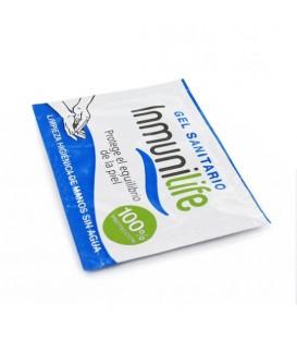 Inmunilife Gel sanitario desinfectante 10 sobres monodosis Mastersex