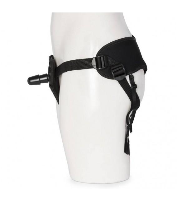 Kit Pegging Silicona Negro Vac-U-Lock Doc Johnson