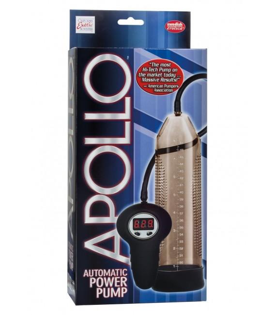 Apollo Succionador de pene digital cilindro transparente