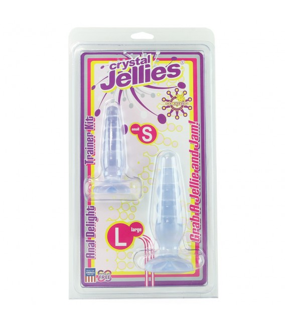 Crystal Jellies Kit Anal Principiantes Doc Johnson