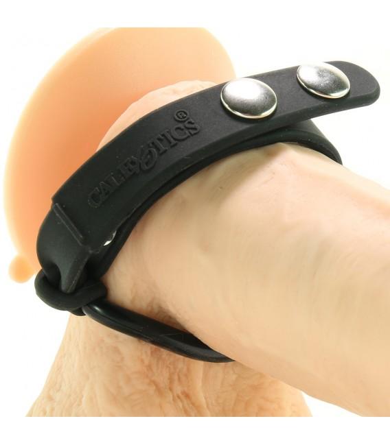 Colt Erection Set anillas para pene y testículos silicona y metal