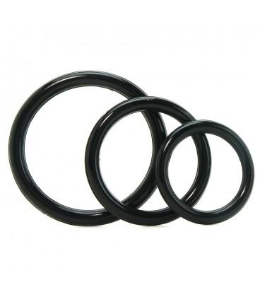 Fantasy C-Ringz 3 anillas para pene y testículos de silicona