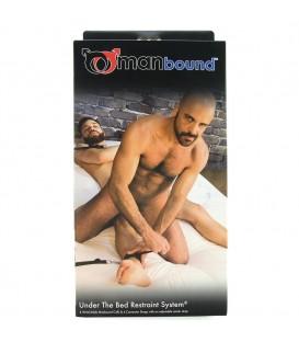 set sumisión bondage retenciones cama manbound