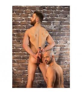 pala spanking pig cuero sintetico manbound