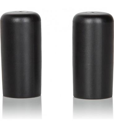 2 ventosas de succion para pezones negro