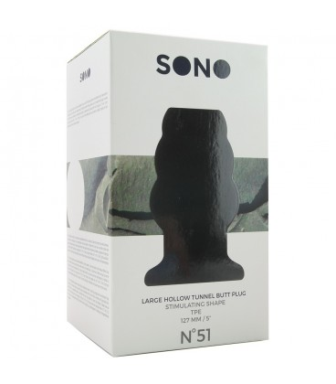 SONO NO.51 - DILATADOR ANAL GRANDE - 12 CM