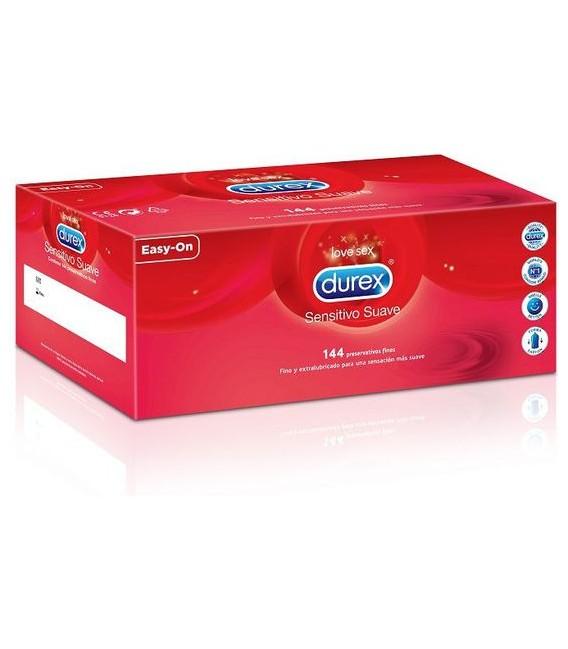 Preservativos Durex sensitivo extra lubricado