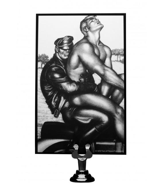 Plug anal vibrador gigante con forma de pene