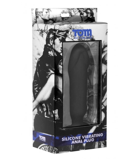 Tom of Finland plug anal vibrador en forma de pene