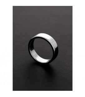 Triune Flat Body Cock Ring ancho de acero alta calidad Mastersex