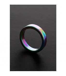 Triune Rainbow Cock Ring Acero Anodizado Multicolor Mastersex