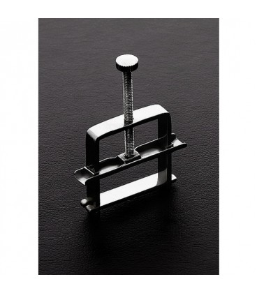 Pinza de prensa para pezones de acero