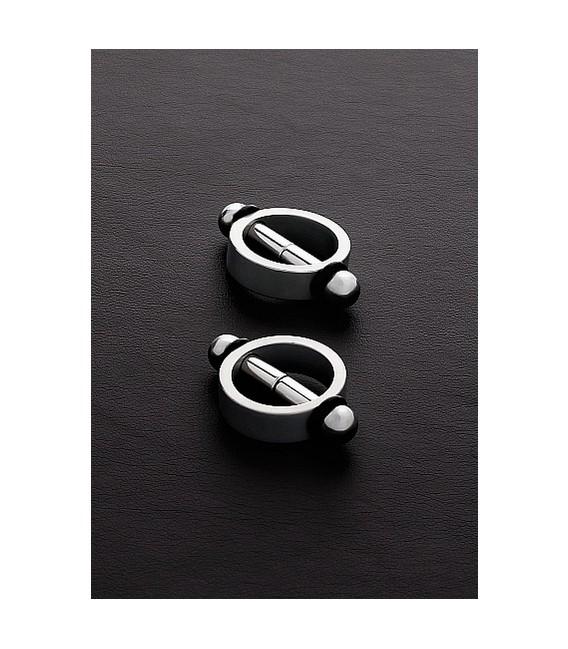 Piercing magnético para pezones