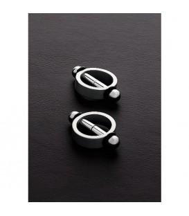 Pinchers 2 Pinzas magneticas para pezones en acero Mastersex