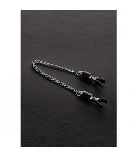 Pinzas ajustables para pezones de acero con cadena Barrel Chain Mastersex